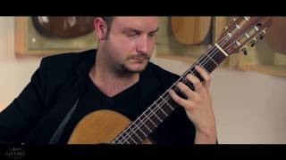 Ivan Petricevic plays Gigue BWV 1004 by J. S. Bach on a 2011 Dieter Müller Doubletop
