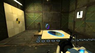 Portal 2 - Co-Op - Course 5 - Chamber 8 - Walkthrough