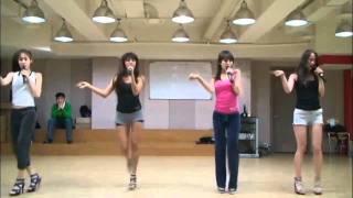 Sistar - Push Push + Shady Girl (dance practice)(720p)