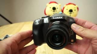 youtube動画撮影用に買ってみた lumix dmc g6