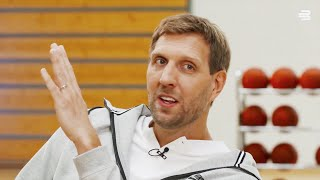 Dirk Nowitzki reveals the BEST PLAYER he faced in the NBA! (Powered by Bauerfeind)