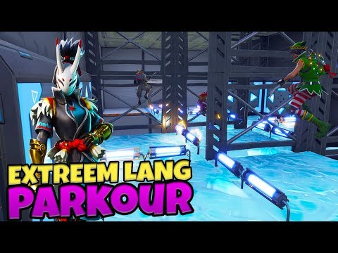EXTREEM LANG PARKOUR - Fortnite met Don & Duncan