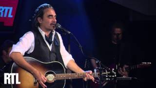 Stephan Eicher - Déjeuner en paix en live dans le Grand Studio RTL