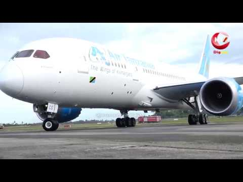 Namna JPM alivyoipokea ndege mpya Boeing 787-8 Dreamliner