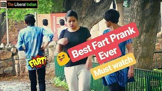 Wet Fart Prank on Beautiful Girls (Delhi Special) | Pranks In India | Filmy Ladka