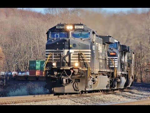 Norfolk Southern Intermodal with Tags Fort Wayne Line