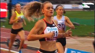 Women's 400m at Gothenburg GP 2018