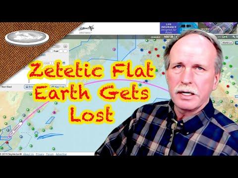 Zetetic Flat Earth Gets Lost | Flight Planning thumbnail