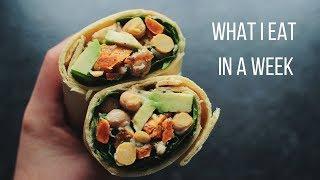 What I Eat in a Week // Vegan #5