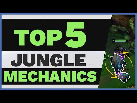 Top 5 SECRET Jungle MECHANICS You NEED To Know! | Skill Capped