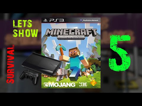 Gameplay : Minecraft : PS3 Edition Survival : Episode 5 : Do some stuff...