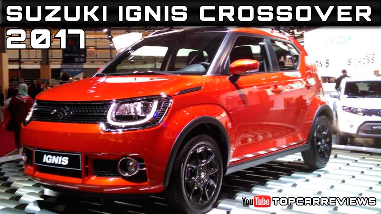 2017 suzuki ignis crossover review rendered price specs. Black Bedroom Furniture Sets. Home Design Ideas