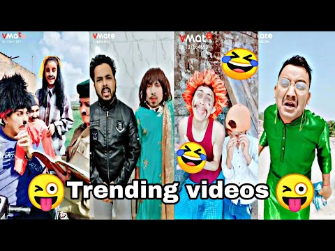 Most popular funny 🤣 Videos  | Today Trending Viral 😜Comedy, 😀Fun Videos | VMate