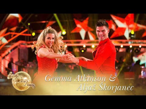 Gemma & Aljaž Samba to 'The River of Dreams' by Billy Joel - Strictly Come Dancing 2017