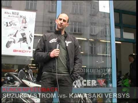 Kawasaki Versys vs. Suzuki V-Strom / test ride / Kundentest