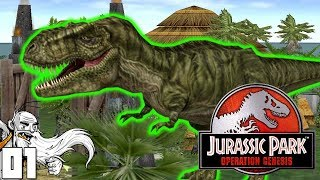 NEW JURASSIC PARK GAME!!! (TOTES CLICKBAIT)  - Let's Play Jurassic Park Operation Genesis Gameplay