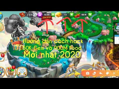 cách hack kim cương trong dragon city tren dien thoai - Dragon city||hướng dẫn cách nhận 50k gem và 900M food mới nhất 2020