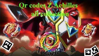 New qr codes z achilles all collection # Нові кр коди З Ахілес вся колекція