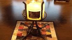 Beginner Welding / Blacksmithing Project: Make a Yankee Candle Holder