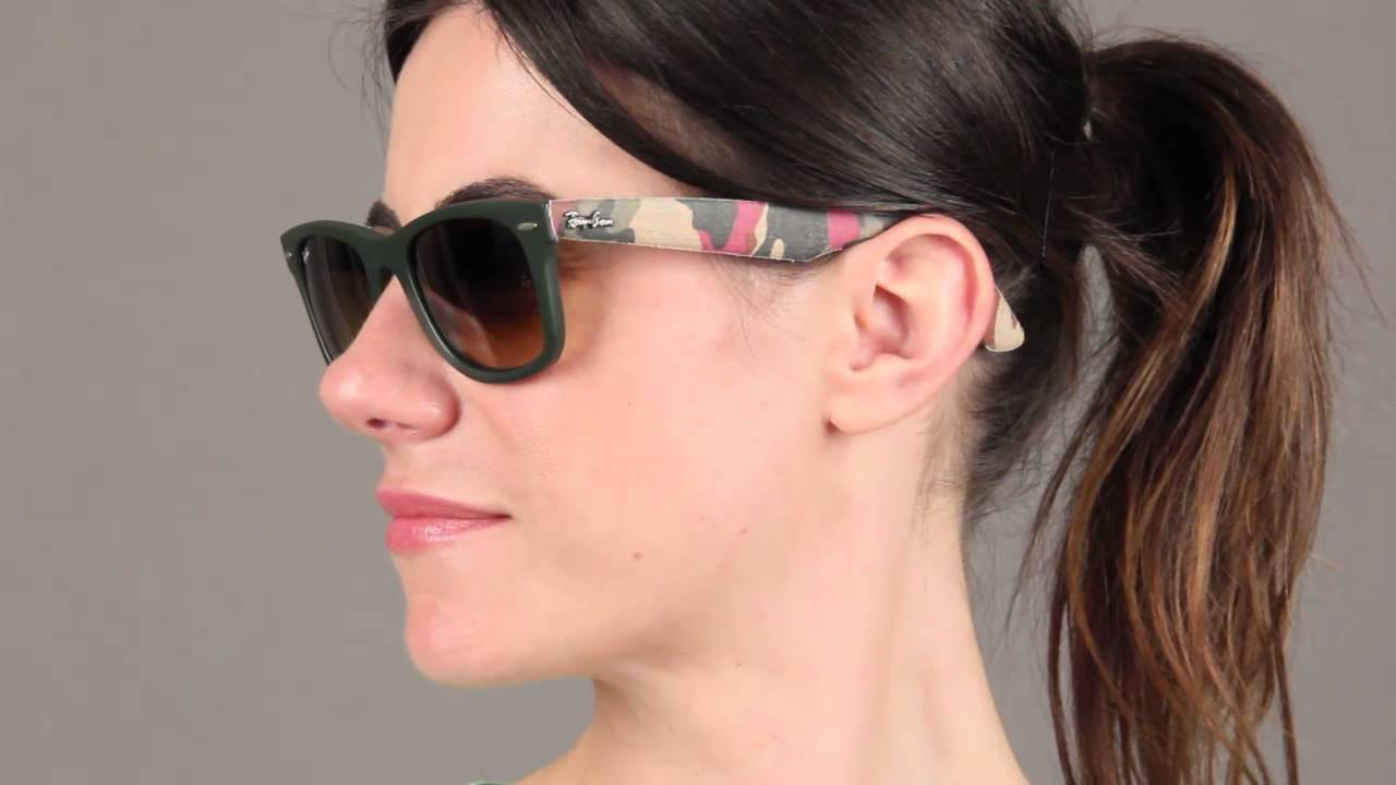 46ea8a13e9954 Ray-Ban RB2140 Original Wayfarer Sunglasses Review - YouTube