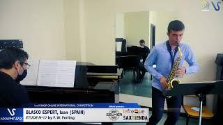 Izan Blasco Espert – Etude Ferling 17