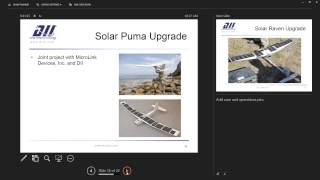 Solar powered UAVs for Remote Applications
