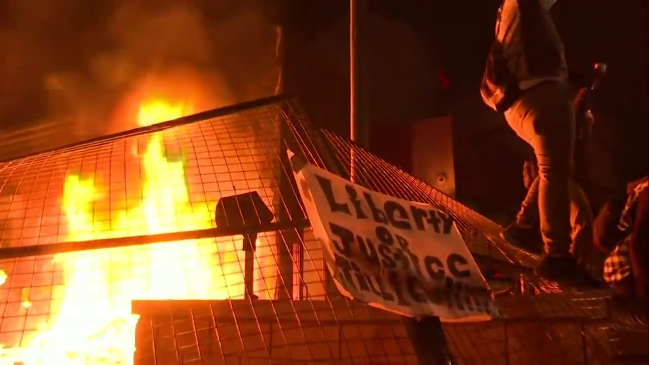 Rioters In Minneapolis Lit The Police Station Up…Literally  [VIDEO]