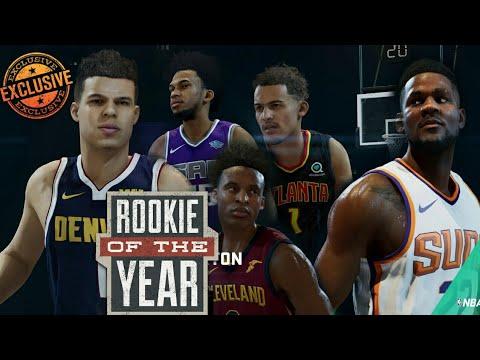 NBA LIVE 19 ROASTING ROOKIES SCRRENSHOTS