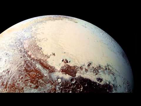 Pluto and Charon in NASA images (4K update)