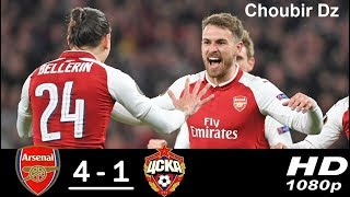 Arsenal vs CSKA Moscow 4-1 Ligue Europa 05/04/2018 HD