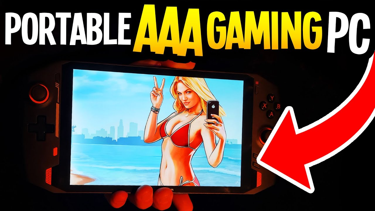 Handheld AAA Gaming PC! ONEXPLAYER Unboxing + Gameplay