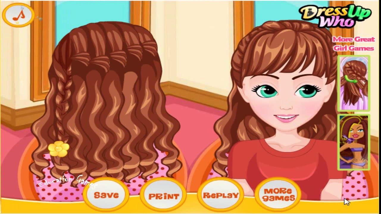 School Braided Hairstyles School Braided Hairstyles Hair Salon Game