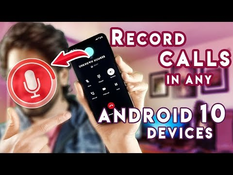 HOW TO RECORD CALLS IN ANDROID 10 FOR FREE | EASY TRICK 2020😱🔥