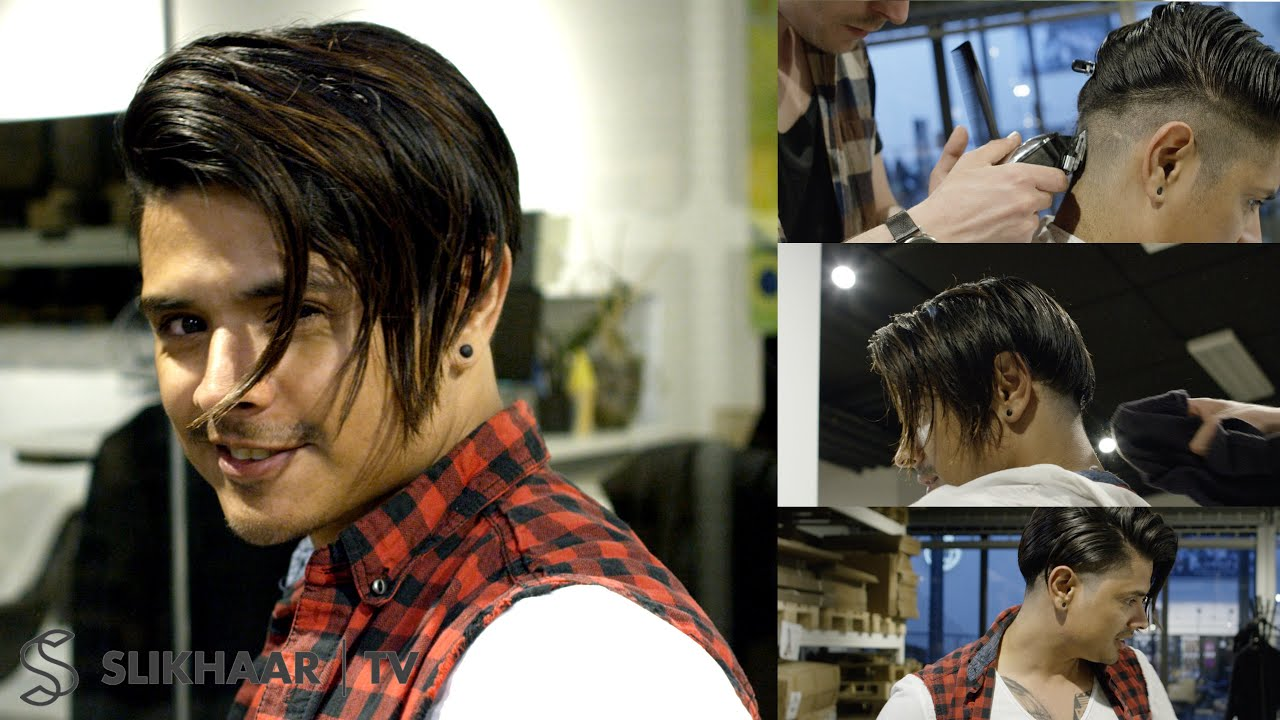 Men's Long Undercut With Inspiration From Lionel Messi New