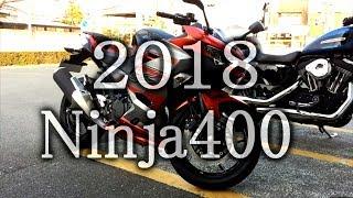 2018新型カワサキNinja400試乗レビュー