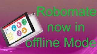 how to use Robomate Apps In offline Mode   how to Download Robomate Video By Desi Tricks