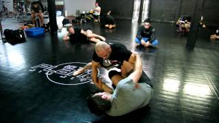 Kenny Florian grappling Manny Gamburyan.MOV