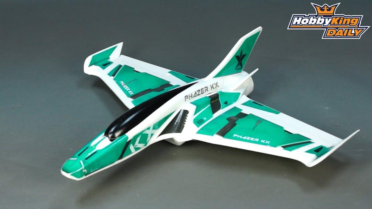 HobbyKing Daily - Phazer KX EDF Jet Flying Wing 860mm EPO (KIT)