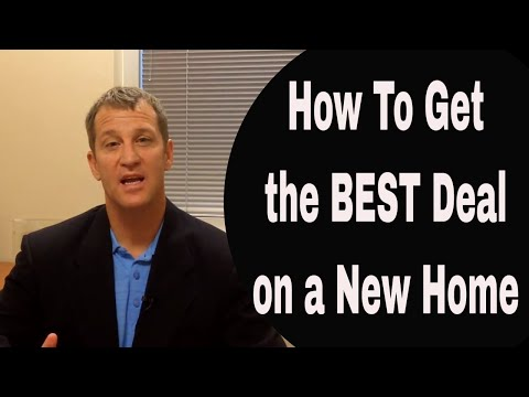 How To Get the Best Deal on a New Home