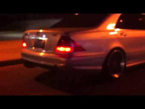 Mercedes W220 S600 biturbo amazing sound exhaust
