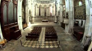 Drone et Cathédrale St Maurice de Vienne - Isère