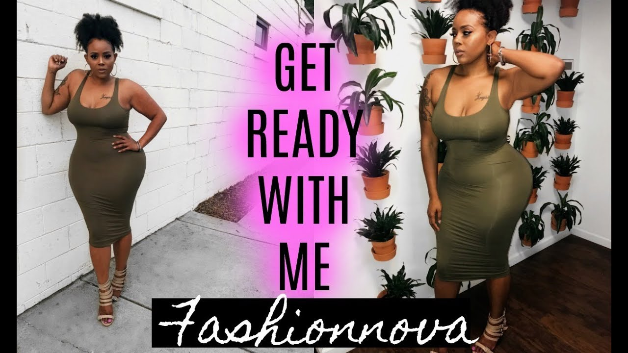 "GET READY WITH ME ""CASUAL MAXI DRESS OOTD"" ♡ Fashion Nova"