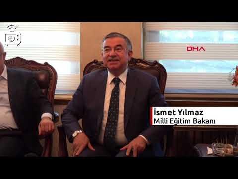 Milli Eğitim Bakanı İsmet Yılmaz: Mersin'de Ikili Eğitimi Kaldıracağız