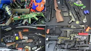 Box of Toys ! MG Surprise Toys COMPILATION - Military&Police Guns Toys & Equipment Weapons Toys