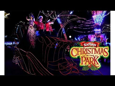 Christmas in the park 2018 | Six Flags México | Inauguración, Desfile, Conferencia.