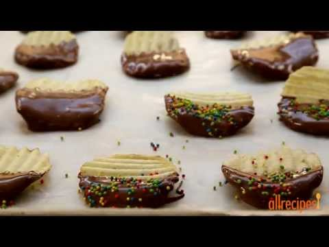 How to Make Chocolate Covered Potato Chips | Snack Recipes | Allrecipes.com