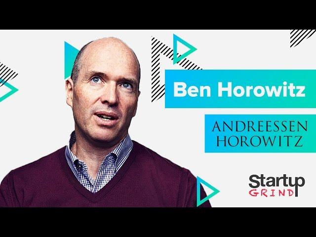 How to Start a Cultural Revolution   Ben Horowitz (Andreessen Horowitz) @ Startup Grind Global