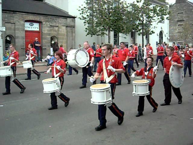 Lisnaskea Twelfth 2011, Enniskillen Fusiliers Flute band (2)
