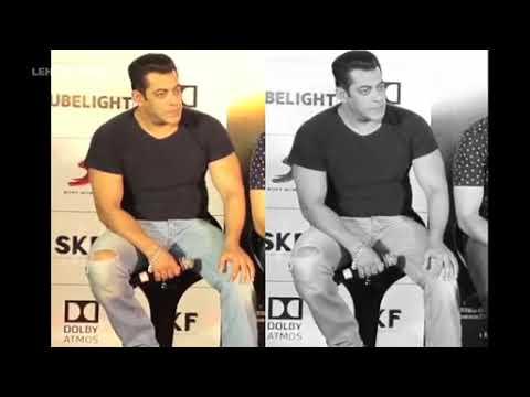 Salman khan Eating  food in front  of media