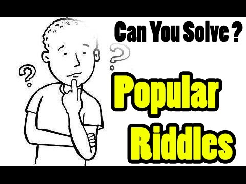 Popular Riddlles | Hard Riddlles |  Worlds Hardest Riddles with Answers | can you solve?